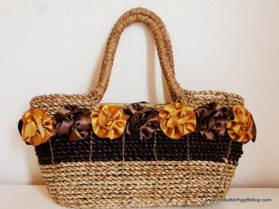 Handmade bag from Borneo