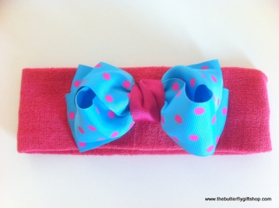 Headbands with Bow (Handmade)