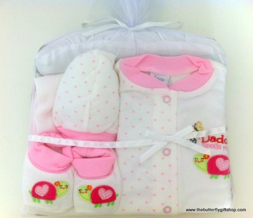 100% Cotton Fabric Baby Gift Set