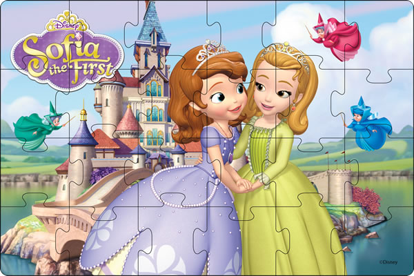 Disney Sofia The First Story Time With Giant Floor Puzzle