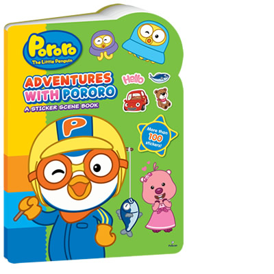 Adventure with Pororo A Sticker Scene Book