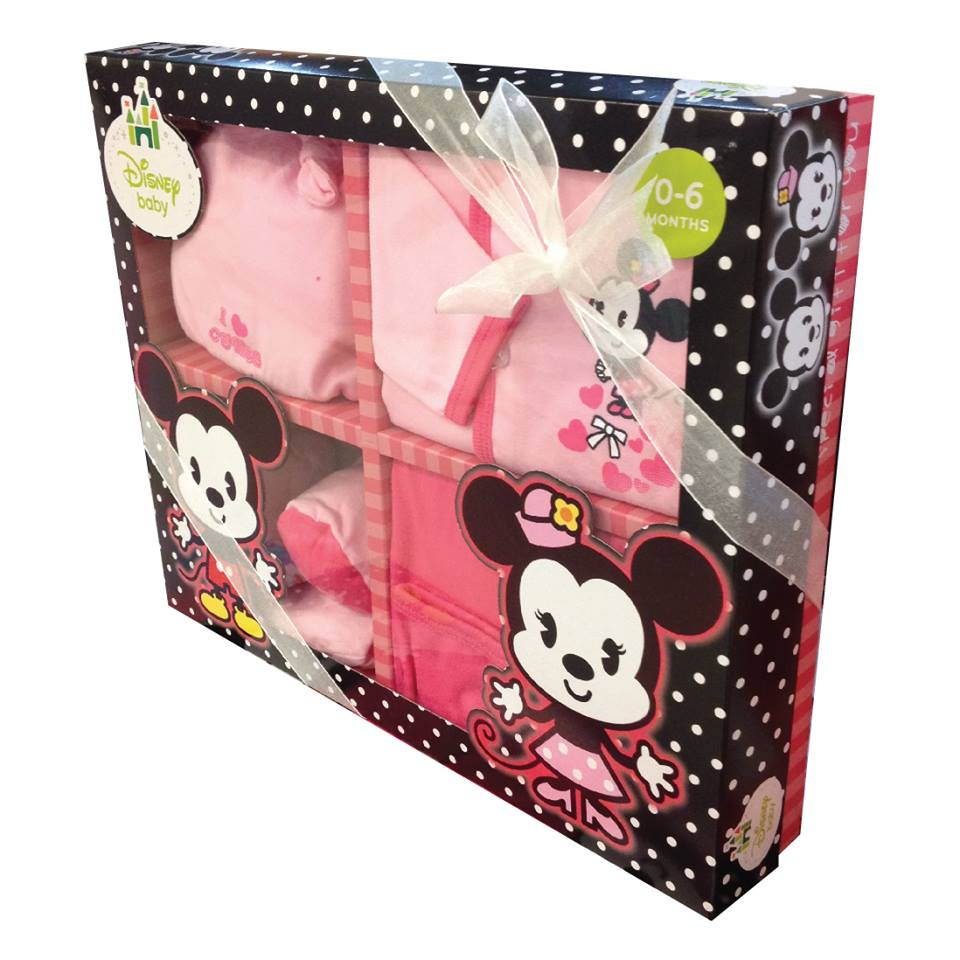 504ecbe9b Disney Baby Minnie Gift Set - The Butterfly Gift Shop