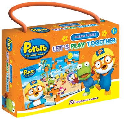 Pororo Jigsaw Puzzle: Let´s Play Together