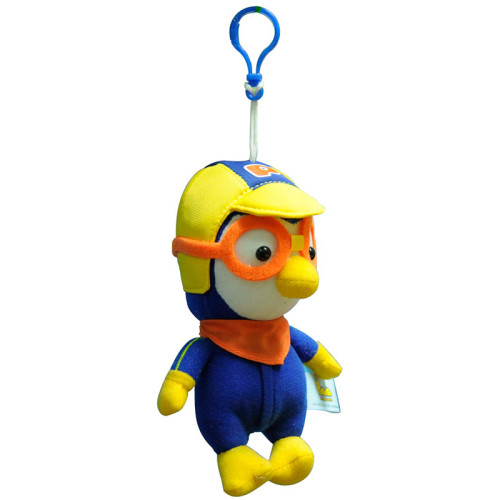 Pororo Hanging Plush Toy with Plastic Hook (6 inches)