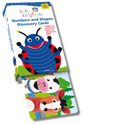 Baby Einstein Flash Card: Numbers & Shapes