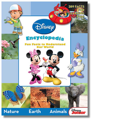 Disney Junior Encyclopedia: Fun Facts to Understand Our World (Hardcover)