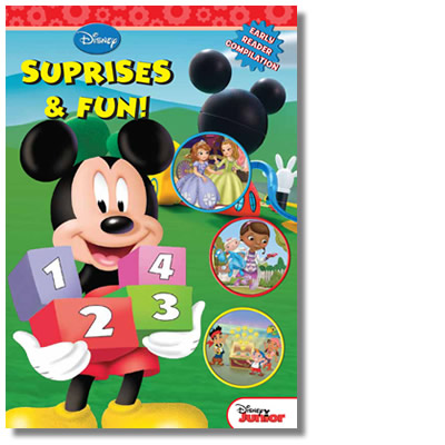 Disney Junior Early Reader Compilation: Surprises and Fun!