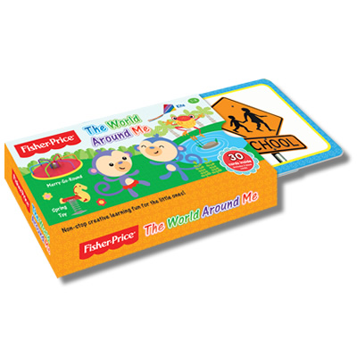 Fisher-Price Flash Card: The World Around Me