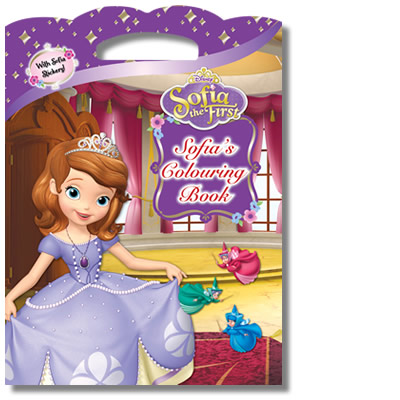 Disney Sofia the First: Colouring Book (with Sofia Stickers)