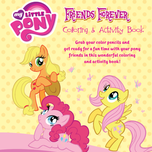 My Little Pony: Friends Forever Colouring & Activity Book with Giant Dual Colour Crayons