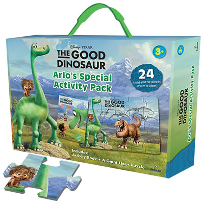 Disney Pixar: The Good Dinosaur- Arlo´s Special Activity Pack Box