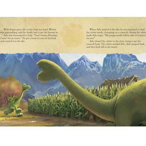 Disney Pixar: The Good Dinosaur- Read-Along Storybook And CD set