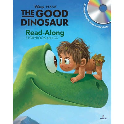 Disney Pixar: The Good Dinosaur- Read-Along Storybook And CD set
