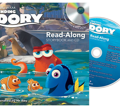 Finding Dory: 4 in 1 Educational Set