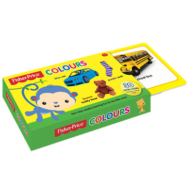 Fisher-Price Flash Card: Colours