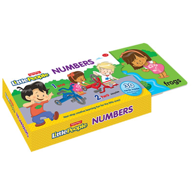 Fisher-Price Flash Card: Numbers