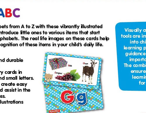 Fisher-Price Flash Cards: ABC