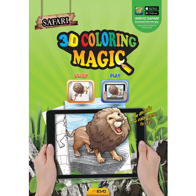 Arevo Augmented Reality 3D Colouring Magic Book (Safari)