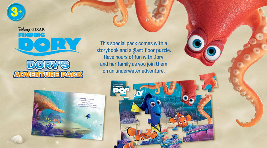 Finding Dory: Adventure Pack