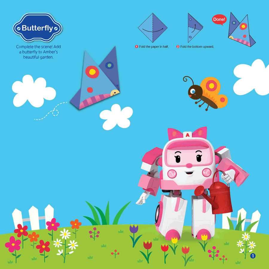 Robocar Poli Origami With And Friends