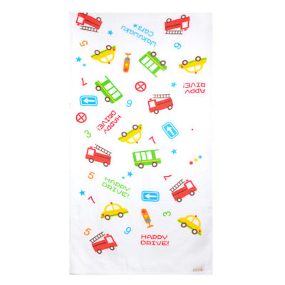 Newborn Essential:Autumnz Baby Bath Towels (Happy Drive)