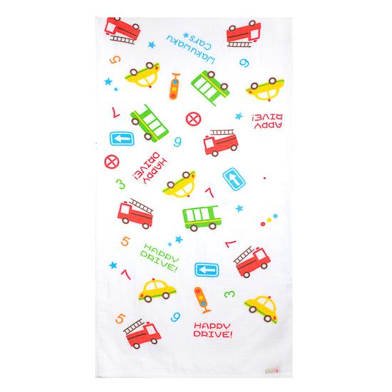 Newborn Essential:Autumnz Baby Bath Towels (Happy Drive)