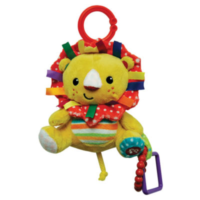 Fisher-Price Stroller Companion: Hanging Plush - Lion (6 Inches)