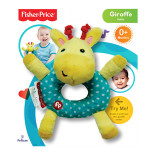 Fisher-Price Rattle Plush: Giraffe (6 Inches)