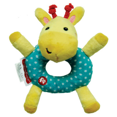Fisher-Price Rattle Plush: Giraffe (6 Inches)