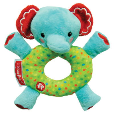 Fisher-Price Squeak Plush: Elephant (6 Inches)