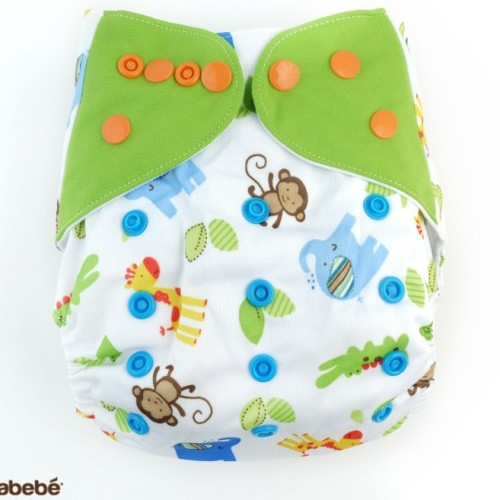 Cloth Diaper with bamboo fibre inserts