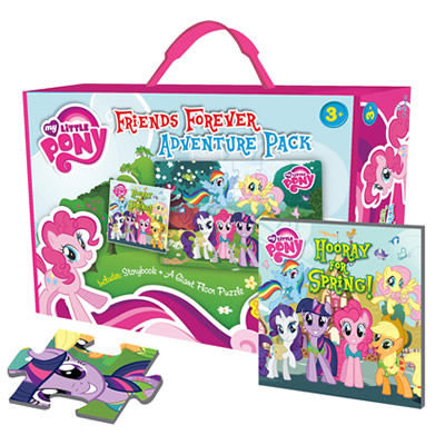 My Little Pony: Friends Forever Adventure Pack with Giant Floor Puzzle and Storybook