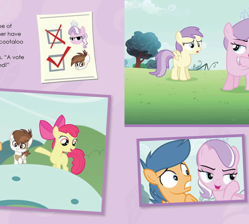 My Little Pony: 4-in-1 Activity Pack!