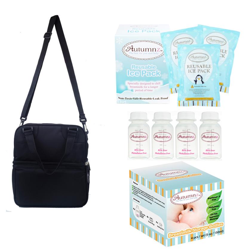Autumnz POSH Cooler Bag Value Package - Black