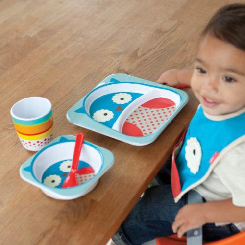Skip Hop: Zoo Tableware - Melamine Set - Owl