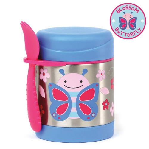 Skip Hop :  Zoo Insulated Food Jar - Butterfly