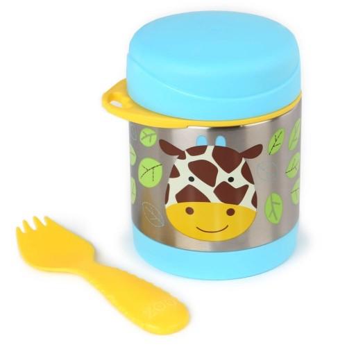 SKIP HOP: Zoo Insulated Food Jar - Giraffe