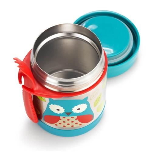 Skip Hop :  Zoo Insulated Food Jar - Owl