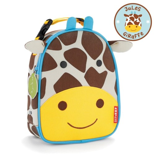 Skip Hop : Zoo Lunchie Insulated Kids Lunch Bag - Giraffe