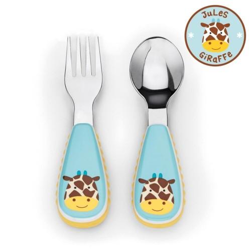 SKIP HOP: Zootensils Fork & Spoon - Giraffe