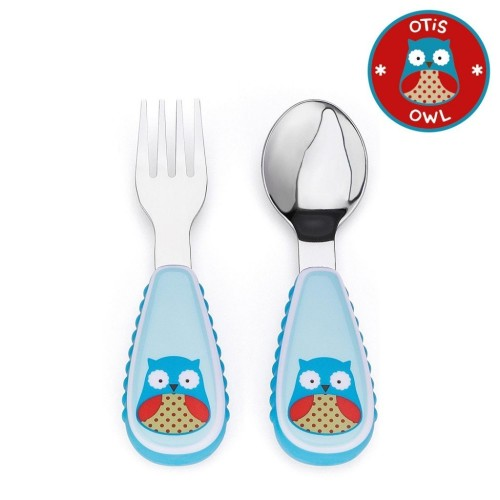 Skip Hop: Zootensils Fork & Spoon - Owl