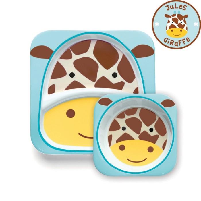 Skip Hop:Zoo Tableware - Melamine Set - Giraffe