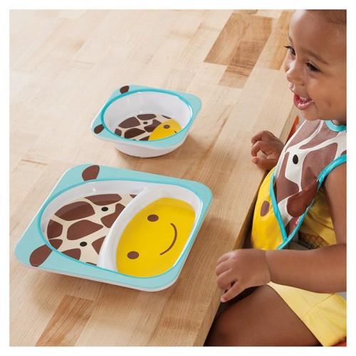 Skip Hop: Zoo Tableware - Melamine Set - Giraffe