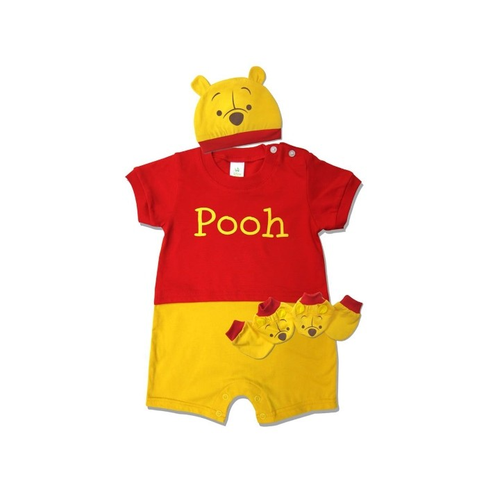 e5e1153a7d27 Winnie The Pooh Baby Costume Gift Set (Pooh) - The Butterfly Gift Shop